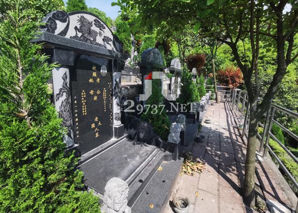 大邑金土坡麒麟戏水标准传统双墓