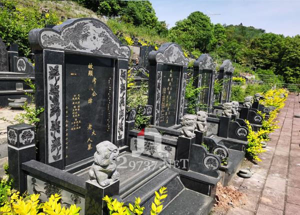 成都金土坡公墓在售性价比高的墓穴大全