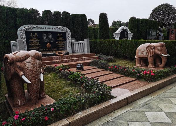 温江殡葬大朗寺大朗陵园制定名人墓