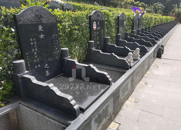 成都洛带燃灯寺公墓前后经济型墓