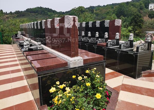 龙泉枇杷沟真武山憩园《真武山公墓》前后墓、壁葬