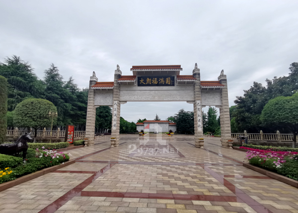 温江大朗福满园公墓成品标准双墓有哪些模板呢?
